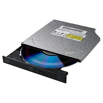 Lite op DS-8acsh slanke zwarte DVD-brander