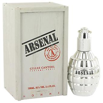 Arsenaal platina door Arsenal Eau De Toilette Spray 3.4 oz/100 ml (mannen)