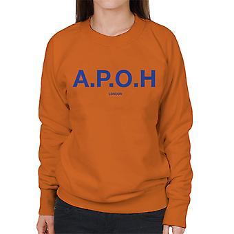 A.P.O.H Classic Cobalt Logo Women's Sweatshirt