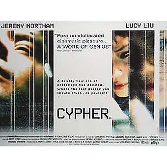 Cypher Original Cinema Poster