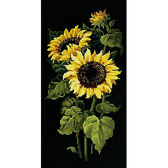 Sunflowers Counted Cross Stitch Kit-9.75