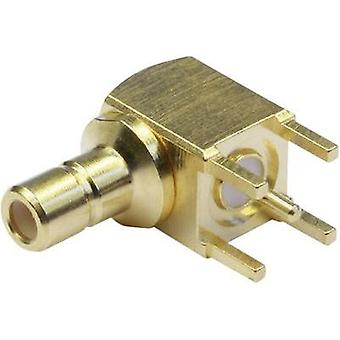 SMB connector Plug, horizontal mount 50 Ω Telegärtner J01160A0231 1 pc(s)