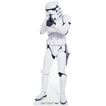 Stormtrooper Star Wars Mini Cardboard Cutout / Standee