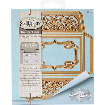 Spellbinders Shapeabilities Dies-Card, Envelope And Liner Set S6080