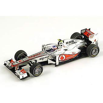 McLaren Mercedes MP4-26 (Jenson Button - Chinese GP 2011) Resin Model