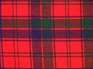 Robertson Rouge, Moderne - Tartan Pure Laine