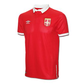 2016-2017 Serbia Home Umbro Football Shirt (Kids)