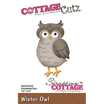 CottageCutz Die-Winter Owl, 1.3