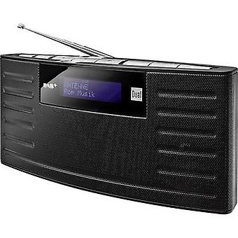 DAB+ Portable radio Dual DAB 15 DAB+, FM rechargeable Black