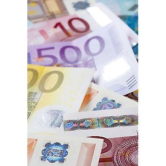 EURO - EUROPEAN UNION BANKNOTES Poster Print