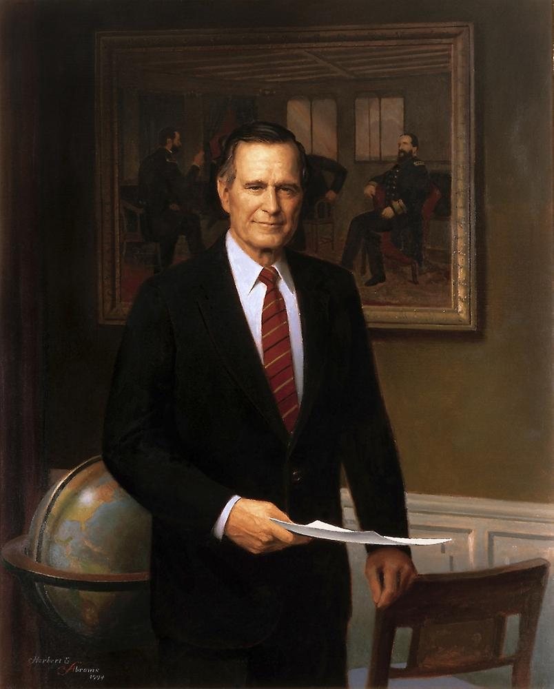 george herbert walker bush George h w bush, as the 41st president george herbert walker bush felt the responsibility to make his contribution both in time of war and in peace.