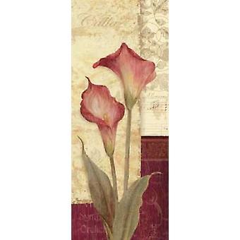 Quattro Sonata IV Poster Print von Pamela Gladding