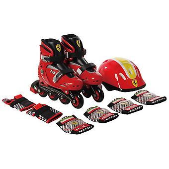 Ferrari In September inline skates with protectors R 29-32