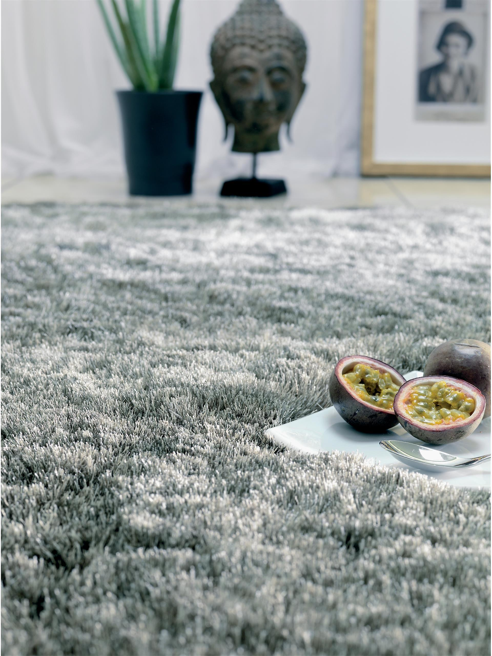 benuta Shaggy Whisper Rug Grey