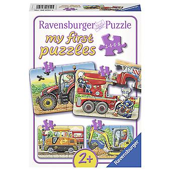 Ravensburger My first puzzel 2,4,6,8 st-