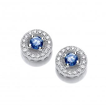 Cavendish French Twinkle Toes Tanzanite Solitaire Earrings