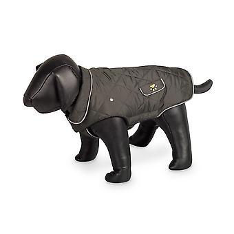 Nobby Marlon Dog Coat Olive/grey 29cm