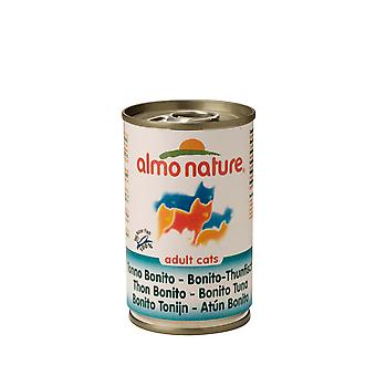 Almo Nature Cat Adult Bonito Tuna 140g (Pack of 24)