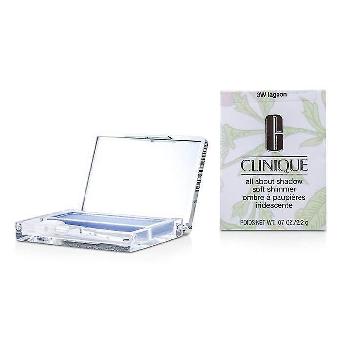 Clinique All About Shadow - # 3W Lagoon (Soft Shimmer) 2.2g/0.07oz