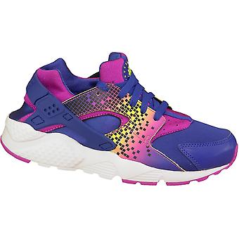 Nike Huarache Run wydrukować Gs 704946-500 dzieci trampki