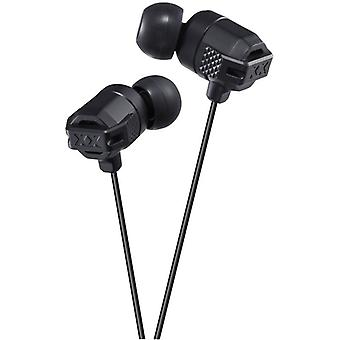 JVC em-orelha fones de ouvido-preto (HAFX102B)