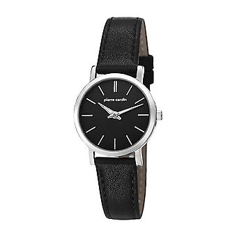 Pierre Cardin ladies watch wristwatch BONNE NOUVELLE leather PC106632F02