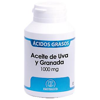 Equisalud Oil Uva and Granada 1000 Mg (Vitaminas e suplementos , Óleos vegetais)