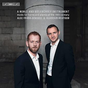 Beethoven / Glazunov / Rossini / Beatson - Noble & melankoli Instrument [SACD] USA import