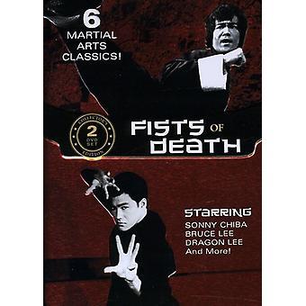 Næver af død [DVD] USA importerer