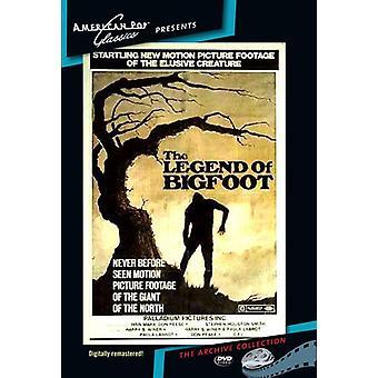 Legenden om Big Foot [DVD] USA import