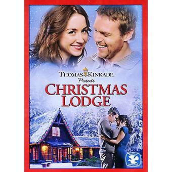 Thomas Kinkade: The Christmas Lodge [DVD] USA importerer