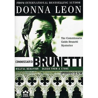 Commissario Guido Brunetti Mysteries: Ep 13 & 14 [DVD] USA import