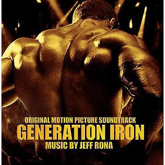 Jeff Rona - Generation järn [CD] USA import