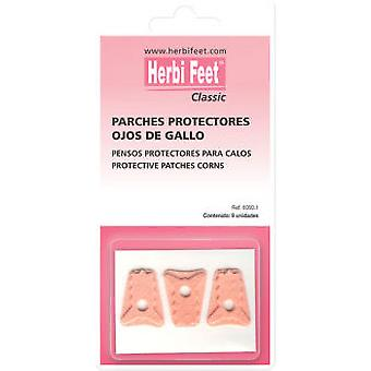Herbi Feet Parches Ojos De Gallo 9 Uds.