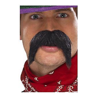 Großer und buschiger Gringo Mexikaner Schnurrbart