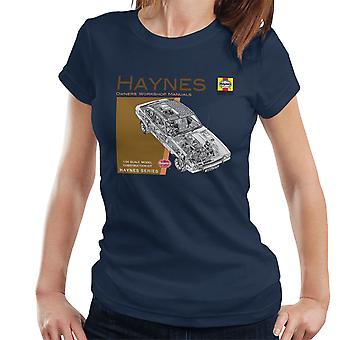Haynes Owners Workshop Manual 0375 Ford Capri II V6 Women's T-Shirt