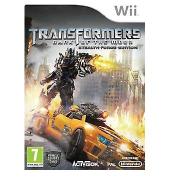 Transformers Dark of le Moon Stealth Force Edition avec jouet Nintendo Wii Game
