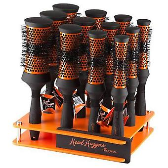 Denman Brush Ceramic Orange (12 Units) (Capillair , Combs and brushes , Accesories)