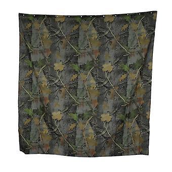Realtree Camouflage Print 70 tommer X 72 tommer badeforhæng med 12 ringe