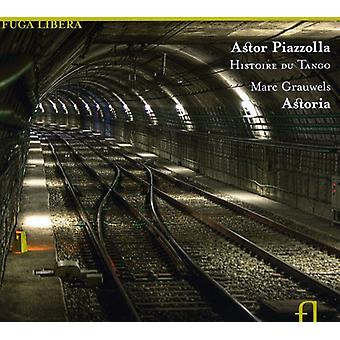 Marc Grauwels - Astor Piazzolla: Histoire Du Tango [CD] USA import