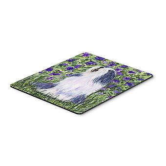 Carolines Treasures  SS8602MP Bearded Collie Mouse Pad / Hot Pad / Trivet