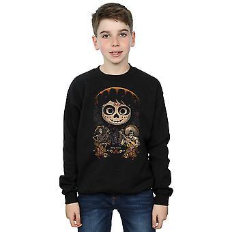 Disney garçons Coco Miguel Face Poster Sweatshirt