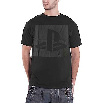 Logo classique de PlayStation T Shirt Player nouveau officiel Mens Black