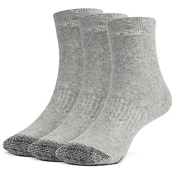 Galiva Girls' Cotton Extra Soft Ankle Cushion Socks - 3 Pairs