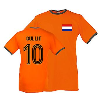 Ruud Gullit Holland Ringer Tee (orange)