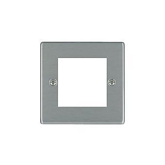 Hamilton Litestat Hartland Satin Stainless 2 Euro Apert 50X50+Grid