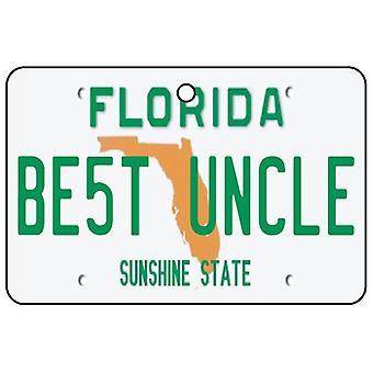 Florida - beste oom License Plate auto luchtverfrisser
