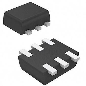 MOSFET ON Semiconductor 2N7002V 2 N-channel 250 m