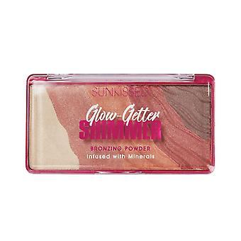 Sunkissed Glow Getter Shimmer Bronzering Powder 20g with Minerals