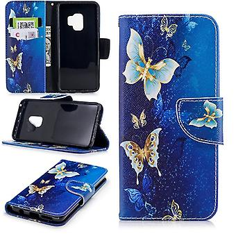 Pocket wallet motif 26 for Samsung Galaxy S9 G960F protection sleeve case cover pouch new